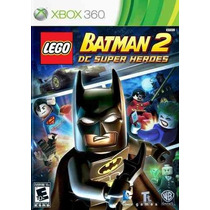 Jogo Xbox 360 Lego Batman 2 - Novo E Lacrado!