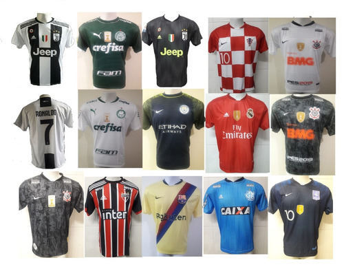 Camiseta De Times Nacional Europeu Seleções De Futebol Euro - R  29 ... a02d7e22df7e9