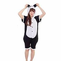 Pijama Enterito Oso Panda Kigurumi De Verano Kawaii