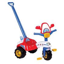 Triciclo Versátil Avião Com Haste - Magic Toys Oferta