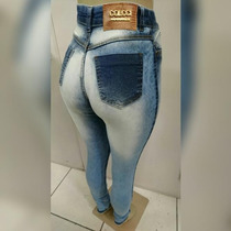 Calça Jeans Colcci Feminina Cintura Alta Hotpants