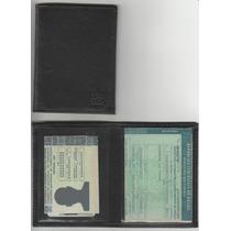 Carteira Porta Documento De Veiculo E Cnh De Couro Legitimo