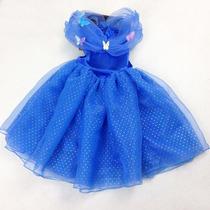 Disfraz Vestido Cenicienta Pelicula No Disney 2015 Niña