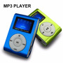 Mp3 Pantalla Lcd Fm Audifonos Entrada Micro Sd Usb Colores