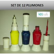 Set De 12 Plumones