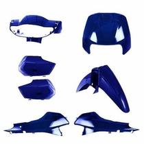 Kit Carenagem Completa Biz100 Azul Mt 98/99 Modelo Original