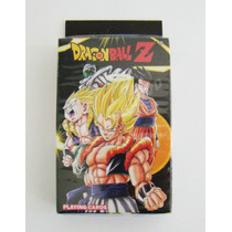 Dragon Ball Z Naipes De Poker Importados De Taiwan Sellado