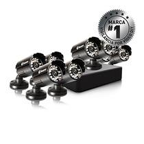 Cámara De Vigilancia Swann Sistema 8 Canales, 8 Cámaras
