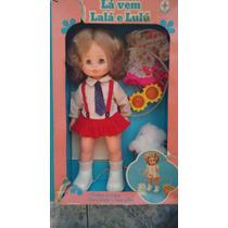 Boneca Lalá E Lulú - Com Caixa- Funcionando