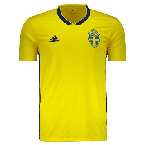 Camisa Da Seleção Da Suécia 2018 Oficial - Em Oferta - R  150 d24dbfffc7c9b