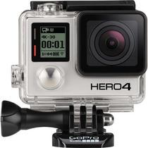 Camera Fotografica Para Mergulho Gopro Hero4 Preta