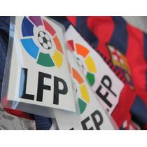 Parche Lfp Liga Española,barcelona, Madrid, Atlético,
