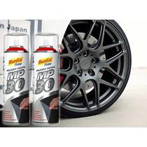 Tinta Spray Para Roda Grafite Metalica Emborrachada Mp30