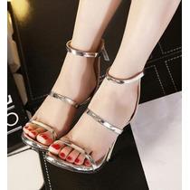 Sandalia Feminina Sapato Feminino Importado Frete Gratis