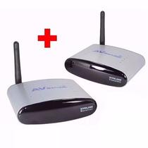 Kit 5 Transmissor Vídeo Wireless Receptor Tv S/ Fio 2,4ghz