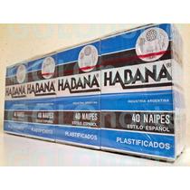 12 Mazos Naipes Habana X40 Cartas Super Oferta Envios Truco
