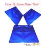 Forma De Silicone P/ Placa De Gesso/ Cimento Mod Flora