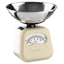 Balança De Cozinha Vintage Typhoon Cream 2kg