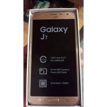 Samsung J7 Dorado Doble Sim Libre De Fabrica Meses S/int
