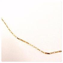 Cordão Corrente Cartier Masculino Em Ouro Amarelo 18k-750