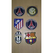 Escudos Para Equipos Europeos Barcelona Real Madrid Inter