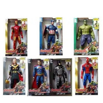 Kit 2 Boneco Vingadores Marvel The Avengers 30 Cm