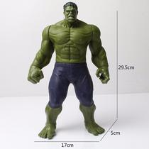 Boneco O Incrivel Hulk 30 Cm Altura Boneco Grande Luz E Som