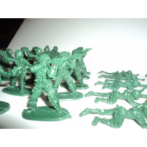 Lote De Soldados De Plastico Por 400 Soldaditos Grises