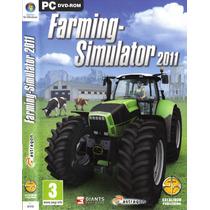 Farming Simulator 2011 Pc Dvd-rom Simulador Fazenda