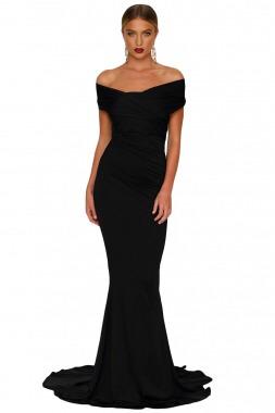 424f942b2910 Vestidos negro largo de fiesta – Vestidos baratos