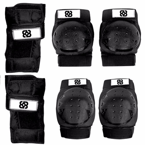 bece5293a Kit Proteção Para Skate Patins Bob Burnquist Es002- Atrio - R  94