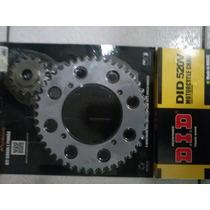 Kit Relação Yamaha Xt 600 Did Maxx Aço 1045 Com Retentor