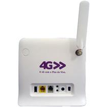 Modem Roteador 4g 3g Voz Zte Mf253l 300mbps Antena Externa