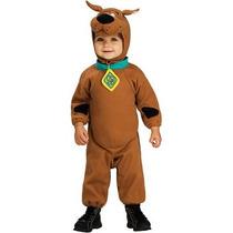 Disfraz 3 A 4 Años Scooby Doo Scoby Niño Perro Perrito