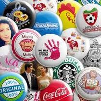 Fotoboton Publicitario 5.5cm Eventos Campañas Pins Botones