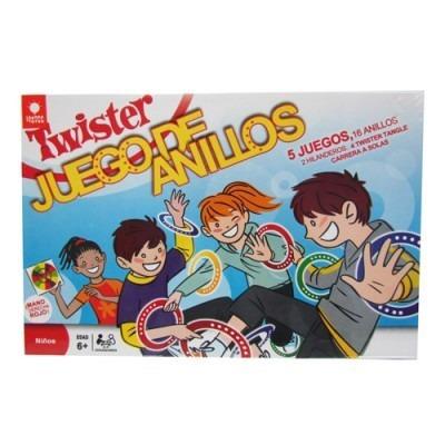 Juego De Mesa Twister Aros Bs 6 00 En Mercado Libre