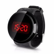 Relogio Masculino Feminino Led Touch Screen Digital Preto