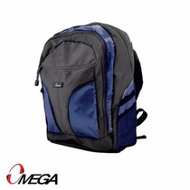 Bolso Morral Mochila Omega Lapto Portatil 15.6 Azul 658506bl