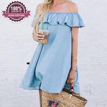 Vestidos Limonni Talego Mujer Moda Campesina Colores 035