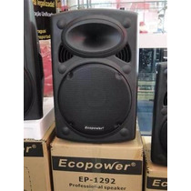 Caixa De Som Ecopower Ep 1292 Nova Top+adp Bluetooth