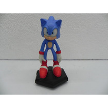 Sonic - Sonic The Hedgehog - Boneco Em Resina - 19 Cm