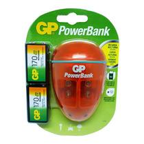 Cargador Powerbank Gp 9v Recargable