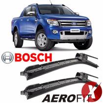 Palheta Limpador Parabrisa Bosch Aerofit Ford Ranger 2014
