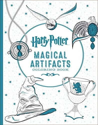 Harry Potter Artefactos Mágicos Libro Para Colorear - $ 89.900 en ...