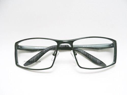 f9619686f0e4f Armação Óculos P  Grau Masculino Grande Aluminio Aro Fechado - R  119