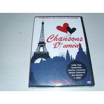 Dvd E Cd Chansons D Amour O Melhor Da Musica Francesa