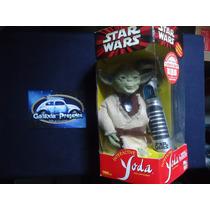 Star Wars Boneco Yoda Interativo Hasbro Tiger Sabre