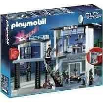 5182 Playmobil Cidade Delegacia De Polícia