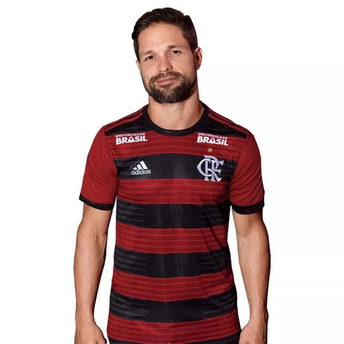 Camisa Flamengo Jogo 1 Patrocínios adidas 2018 - Com Patrocí - R  279 82653d61b30c8