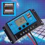 Controlador De Carga Para Painel Solar - 20 Amperes 20a Usb